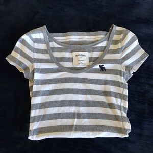 Striped Abercrombie t-shirt